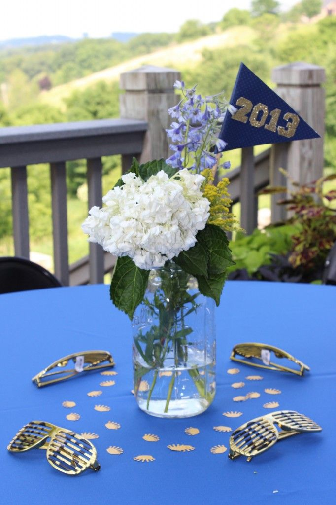 Best ideas about graduation party centerpieces on