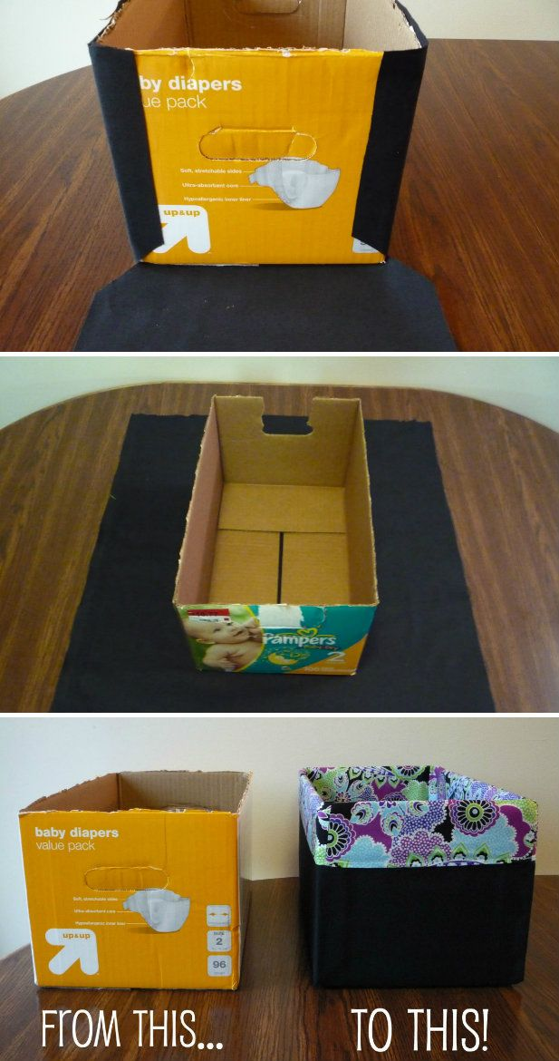 Upcycled Paper Box