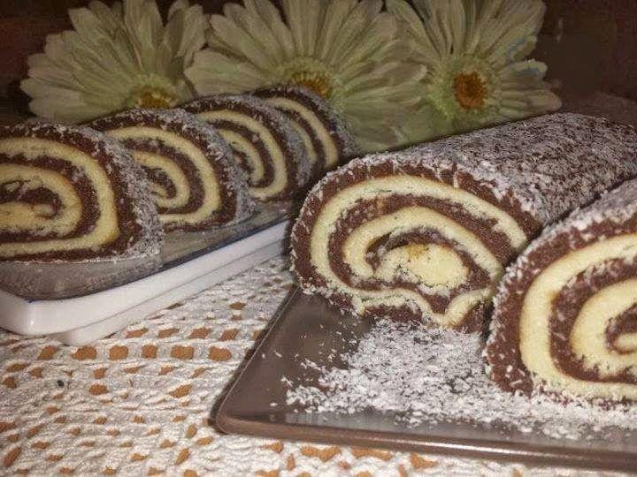 Šareni rolat ( brzo, posno, ne peče se) ~ Kuhinja, Recepti, Specijaliteti