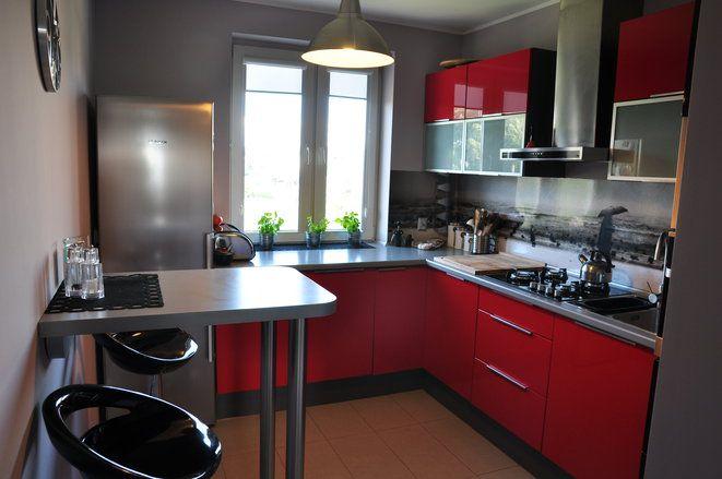 kuchnia w całej okazałości  DOM  Pinterest -> Kuchnia Pod Zabudowe Kwidzyn