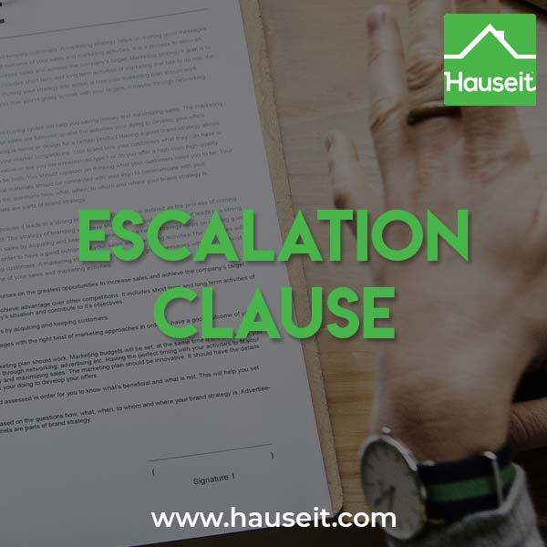 What Is an Offer Escalation Clause in NYC? | Buying an