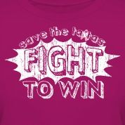 Official Save the ta-tas Fight to Win Tee