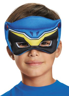 From the new series POWER RANGERS DINO CHARGE, we have this new puffy mask so you can be part of the action! Made of soft molded polyfoam, lightweight and comfortable to wear. One size fits most child