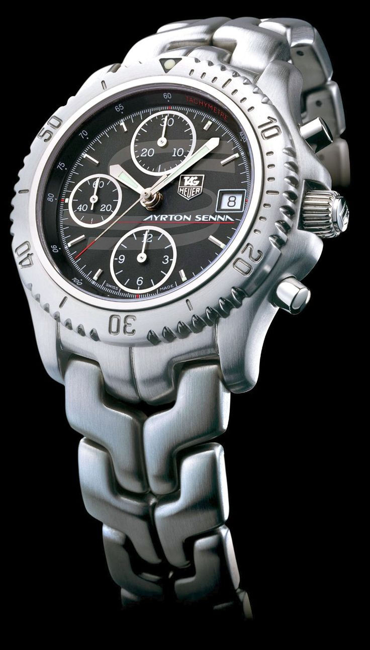 2001 TAG Heuer Link  Ayrton Senna: Link, Time Piece, Quality Mens, Male, Af S Watches