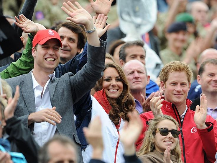 A Royal Sendoff! Princess Kate, Prince William and Prince Harry Wish Team GB Best of Luck in Rio  The British Royals, The Royals, Kate Middleton, Prince Harry, Prince William