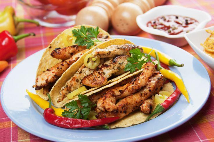 Przepis na tacos z czerwoną fasolą