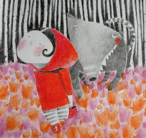 czerwony kapturek - Buscar  Red Riding Hood                                                                                                                                                                                 More