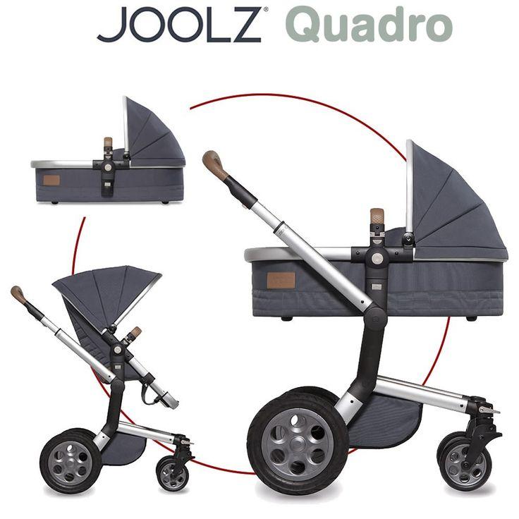 Joolz DayQuadro Kombikinderwagen bestehend aus Sportwagen Babywanne (Liegeeinheit) Die Schönheit der Joolz Day Quadro Kollektion geht bis ins ...