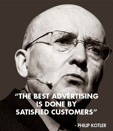 The best #marketing #quote ever. #customerlove #advertising