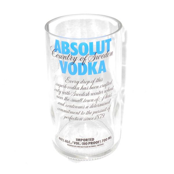 Absolut Vodka Vase