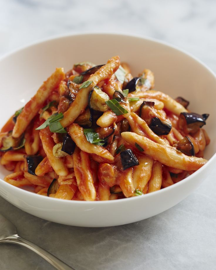 Cavatelli with Eggplant and Smoked Mozzarella | Giada De Laurentiis