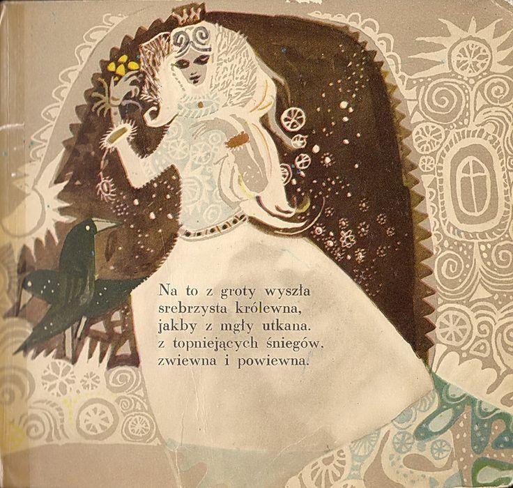 Bajka_o_snieznym_kroluKubiak Illustration, Tadeusz Kubiak, Beautiful Book, Book Worth, Nasza Księgarnia, Snow King, Polish Illustration, Children Illustration, Rychlicki Nasza