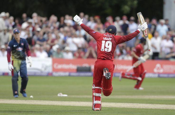 Lancashire beat Kent in dramatic fashion