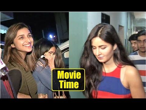 SPOTTED ! Katrina Kaif & Parineeti Chopra together for a Movie at Pvr Cinema Click here to see video >>> https://youtu.be/akBINUDc7HA #katrinakaif #parineetichopra #bollywood #bollywoodnews #bollywoodnewsvilla