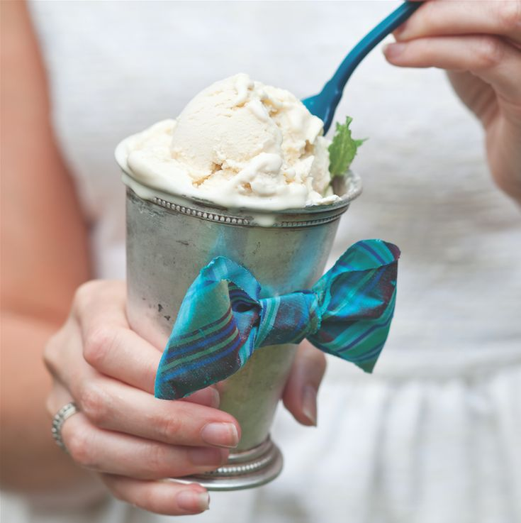Nothing says southern like a mint julep! We've put an icy spin on this classic cocktail, making it the perfect warm-weather refreshment. Celebrate magazine.