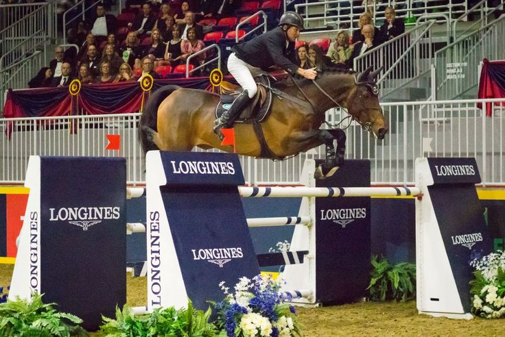 Three of Rio's showjumping medallists ended up topping the podium at the Longines FEI World Cup leg in Toronto, including Great Britain's Olympic champion Nick Skelton.