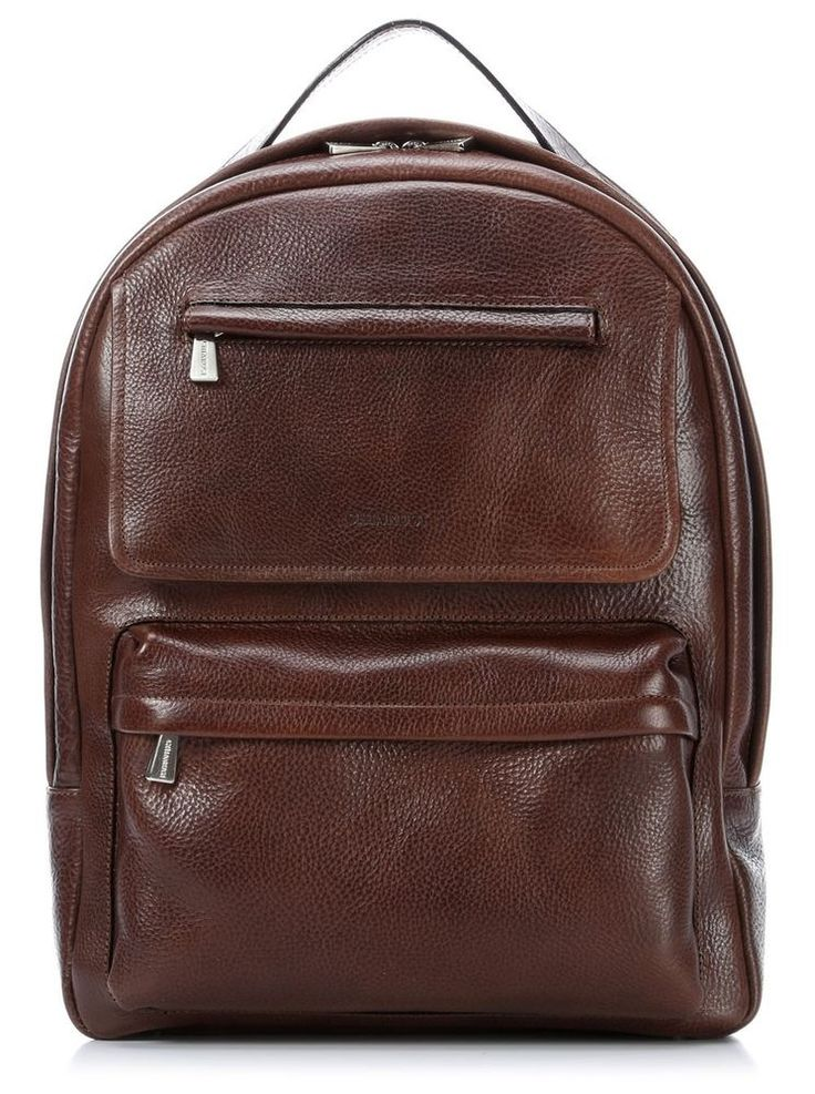 Chiarugi borsa in pelle zaino porta notebook italian leather backpack laptop