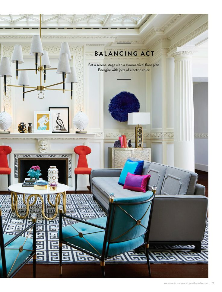 56 best designers jonathan adler images on pinterest jonathan being chic is a balancing act by jonathanadler aloadofball Images