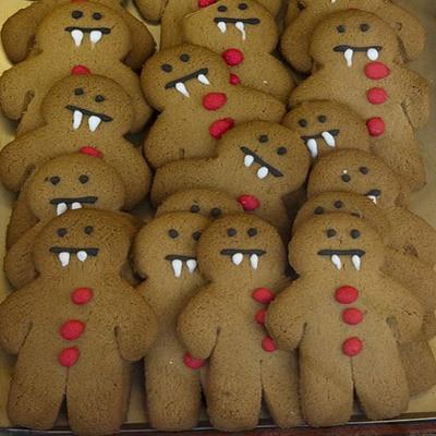Spooky Halloween Gingerbread Treats