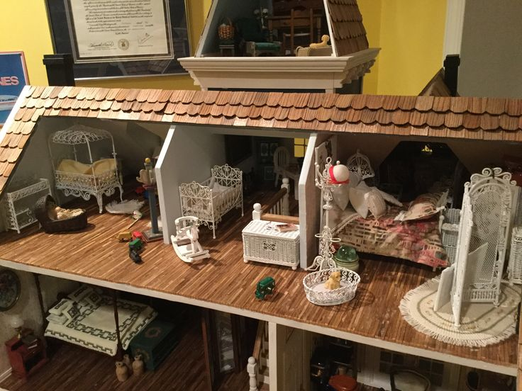 """Dollhouse - The children's wing at """"Sigley Cove"""""""