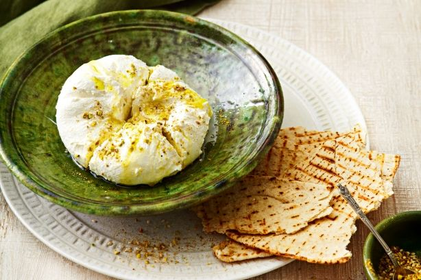 Serve this thick, creamy and tangy dip with toasted pita as a nutritious starter or snack for eight.