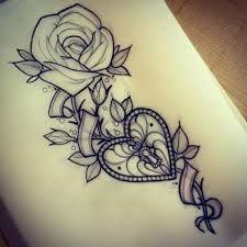 Resultado de imagen de rose tattoo tumblr