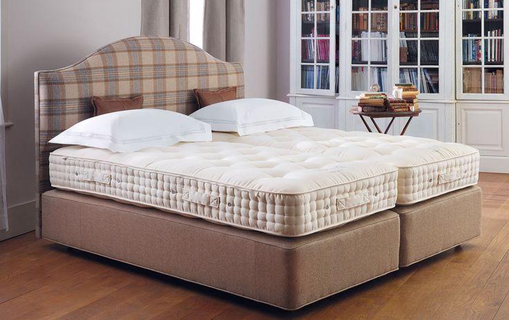 VISPRING Shetland | #luxury #bespoke #beds #mattresses #cashmere #wool #organic #cotton #comfort #sleep