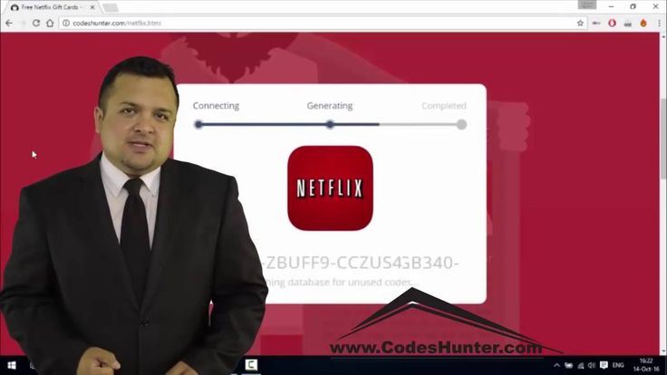 Free Netflix Gift Card Codes - How to get Netflix account [tutorial] 2017 - YouTube