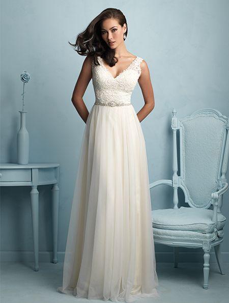 37 best A-line Wedding Dresses images on Pinterest | Wedding frocks ...