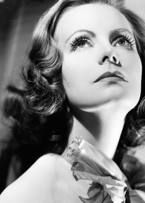Greta Garbo-My mom said I looked like her at my junior prom . . . i don't know she's really pretty!
