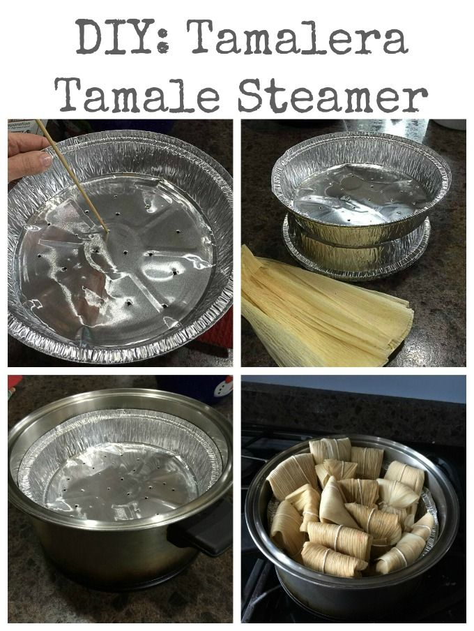 DIY: Homemade tamale steamer or tamalera | ethnicspoon.com