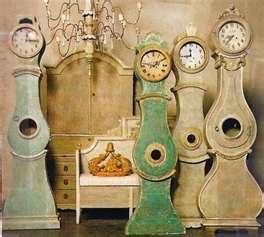 Angie Tyner clocks - love