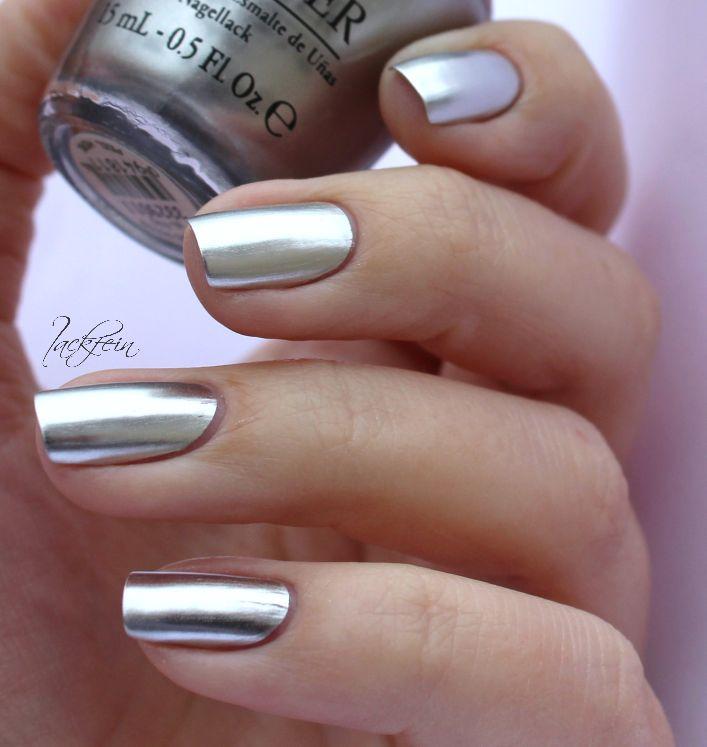 Opi Metallic Chrome Nails Opi Push And Shove Nails And Opi