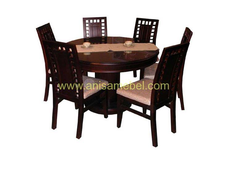 Set Meja Makan Minimalis | Mebel Jepara | Furniture Jati Jepara | Furniture Store | Mebel Jati http://anisamebel.com
