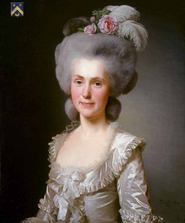 Alexander Roslin, Portrait of Marie Jeanne Puissant, 1781