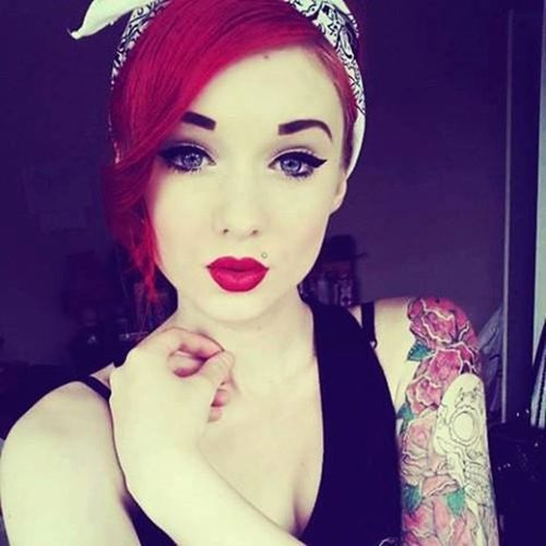 Oh no, red head with tattoos...here ya go Ryan