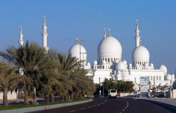 Большая белая мечеть (мечеть шейха Зайда) ОАЭ