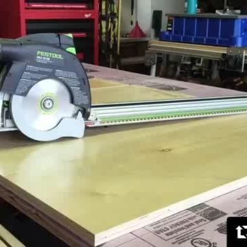 """Always love a good #tool demonstration from @toolpig. Even better (for us) when he does it on his #CentipedeSupportXL #tracksaw #stand! Repost:    Can the @festool_usa hkc55 be used on finish work or is it just a rough carpentry saw? This looks pretty good but how is the angle?I just put a short video up on my YouTube channel """"Toolpigs raw tool videos """" check it out and I'd love it if you subscribed since I can go into more detail there. Don't be offended by the Milwaukee..."""