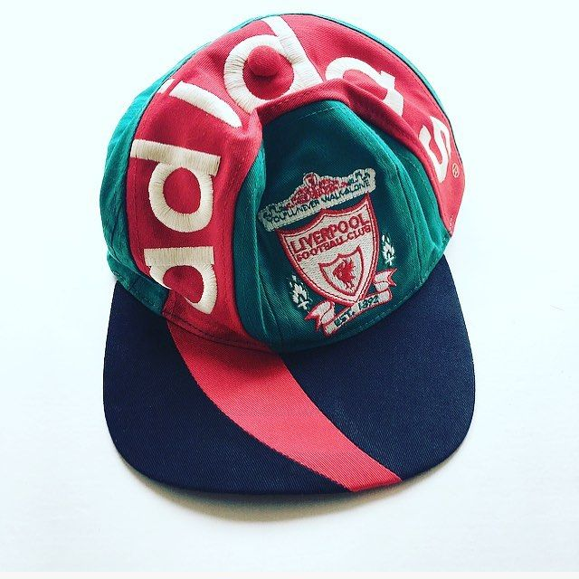 2d7922f1215ed One for the hipsters. 90s Liverpool adidas cap - link in bio ...
