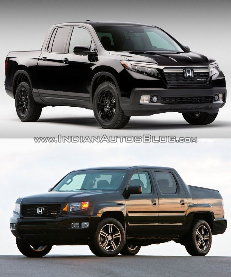 2017 #Honda #Ridgeline vs first-gen Honda Ridgeline – Old vs New -