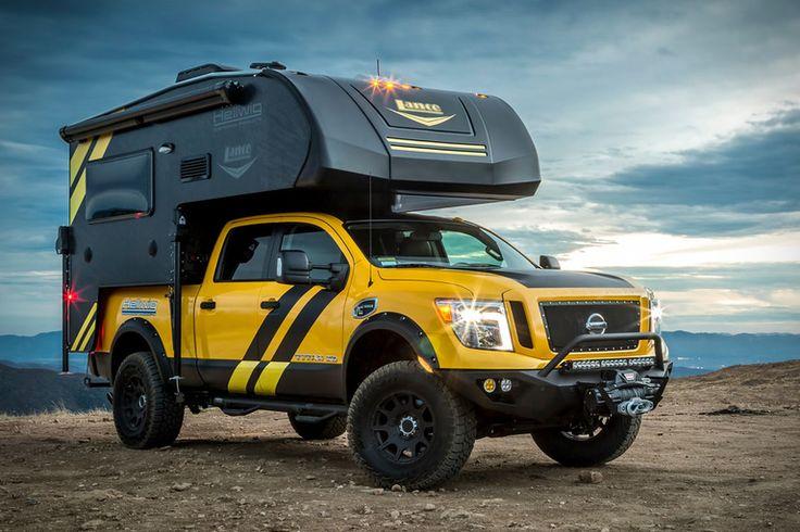 Hellwig x Lance Nissan Titan XD Camper Rig