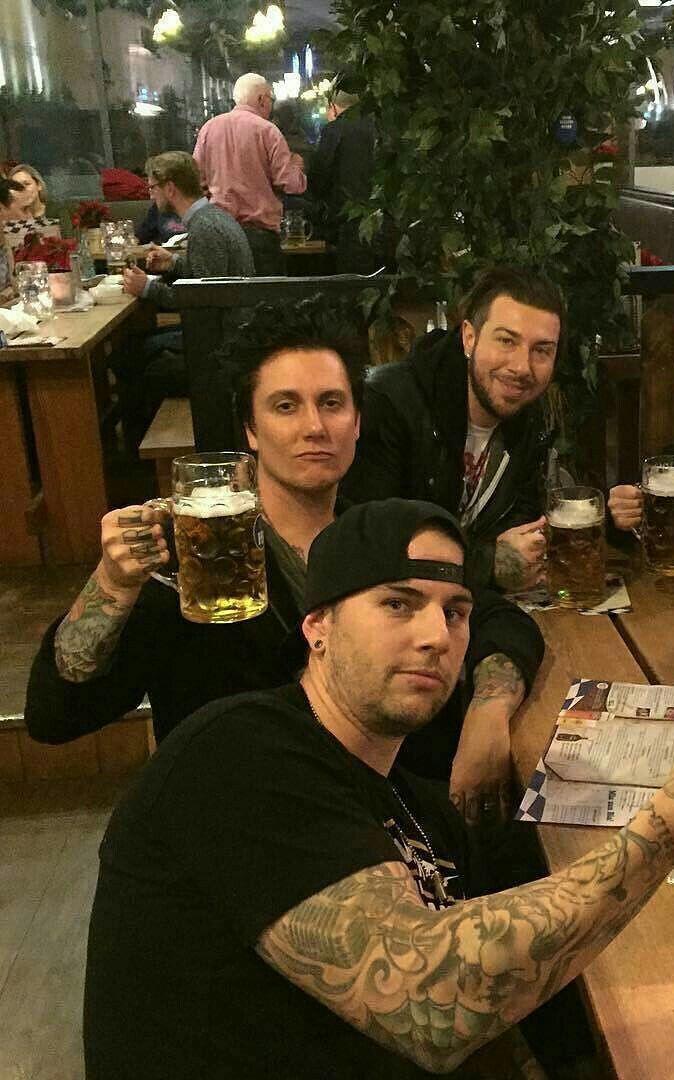 Matt, Brian and Zack #AvengedSevenfold A7X