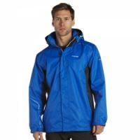 £34.99 -  Regatta Mens Sangson Jacket Oxford Blue  A mountain inspired, highly versatile outdoor jacket using Regatta's trusted Isotex waterproof and breathable fabric technology. Waterproof and breathable Isotex 5000 textured fabric. Taped seams. Mesh lined. Concealed hood with adjuster. Inner security pocket. Adjustable cuffs.Adjustable shockcord hem