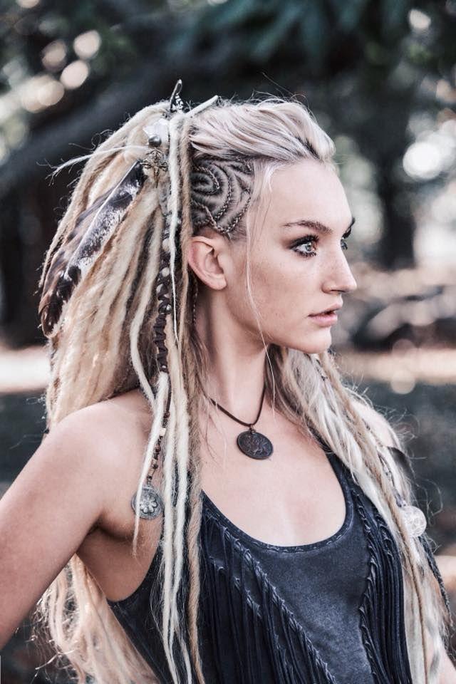 Viking Warrior Queen Vera Black Styling Samsaraandthewolf Olivia Harriet Viking Hair Hair Styles Viking Braids