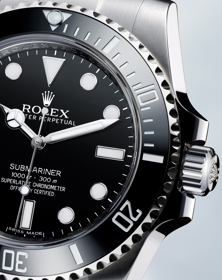 Rolex Submariner Ceramic No Date, Basel 2012.