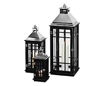 3 Lanternes REINER - noir