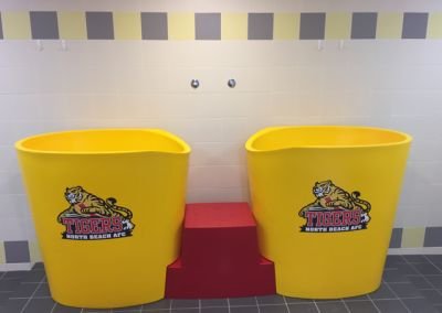 Colorful Ice Bath Tub