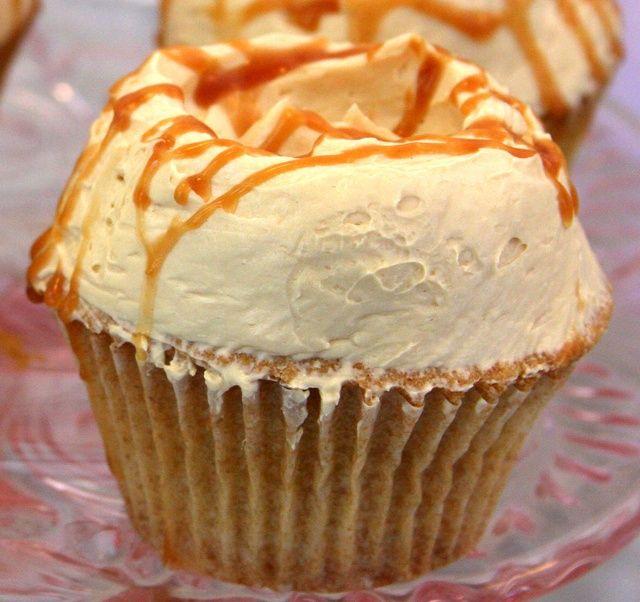 Karamel Botercreme - Cupcakes & Muffins