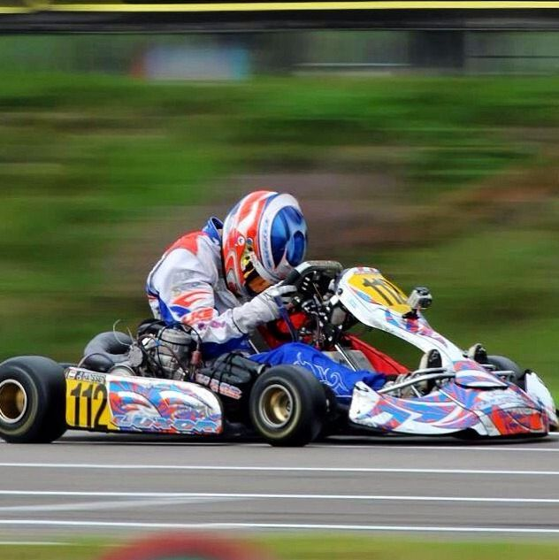 Don't let a loss get you down, it happens to the best of us. If you always win, you won't know how to grow as a racer. Hang in there! #karting #racing @I-Drive Indoor Kart Racing