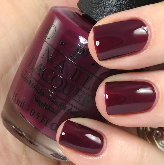 OPI San Francisco Collection Fall/Winter 2013 Review, Swatches, Photos In the Cable Car-Pool Lane